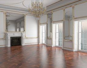 3D Classic Interior Hall