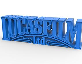 3D printable LUCASFILM emblem