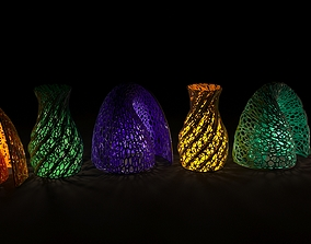 Beautiful vase decor 3D print model other