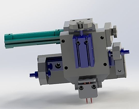 3D XZ two axis conveying mechanism