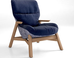 3D model Jardan Sweeney Armchair