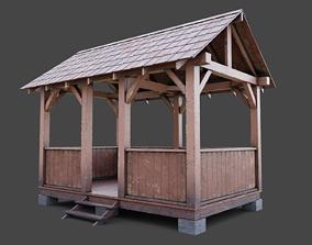 Summer gazebo 3D model
