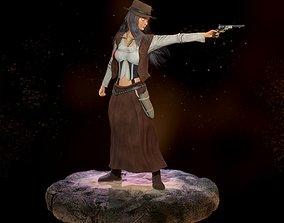 3D asset Tara West Outlaw