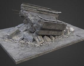 3D Bridge Damaged Element