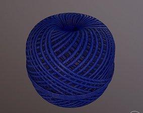 Rope roll 3D asset