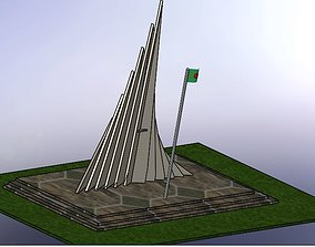 National Martyr Memorial 3D print model
