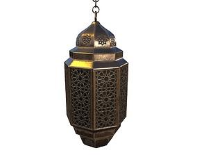 Vintage Lantern PBR Game Ready 3D model