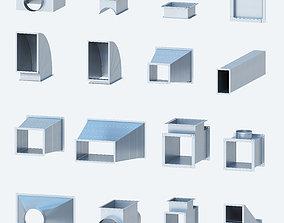 3D Ventilation Rectangular shaped products