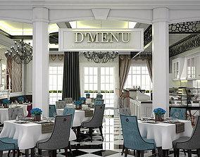 Classic Cuisine Restaurant 3D