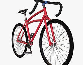 3D model Custom bicycle
