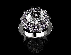 3D printable model Beautiful Fashion Jewelry Purple 4