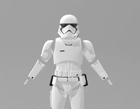 Star Wars TLJ Storm trooper Full Armour EP8 3D print model
