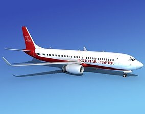 3D model Boeing 737-800 Boston Air