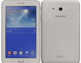 Samsung Galaxy Tab 3 Lite 7 0 White 3D model