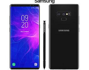 Samsung Galaxy Note 9 Black 3D