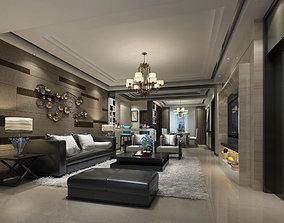 modern living room 3dscene