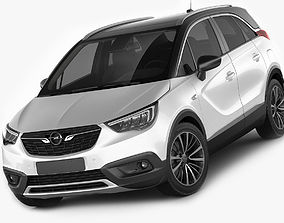 Opel Vauxhall Crossland X 3D