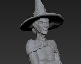 Granny Weatherwax - Discworld - 3D print ready