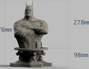 BATMAN BUST 3D print model batman
