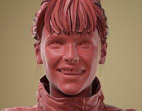 Facial Expression 0-48 Cute Smile 3D
