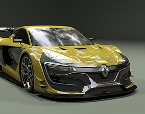 Renault Sport RS01 2015 3D model