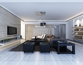 Living Area 3D model - 76