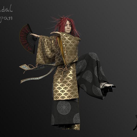 The Dancing Feudal (Kitsune Man)
