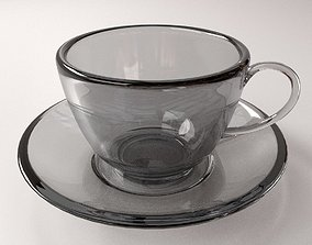 Cup and Saucer 3D