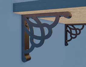 3D printable model Shelf Bracket shelf