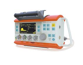 3D model Portable Lung Ventilator Oxylog 300 plus