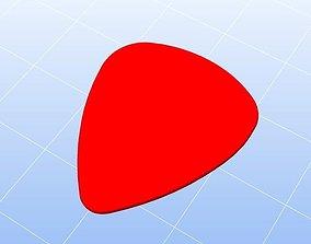 3D printable model Plettro per chitarra plectrum for 1