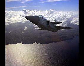 3D asset realtime SAAB Gripen J-39