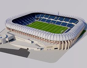 3D model Teddy Stadium - Jerusalem Israel