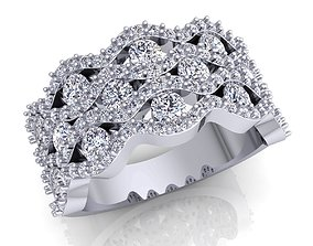 diamond-ring Aarna Ring 02 3D print model