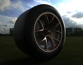 GT wheel 3D print model