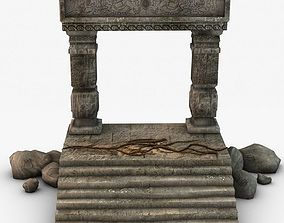 3D Ancient Entrance Design