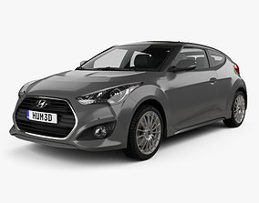 Hyundai Veloster Turbo 2014 3D model