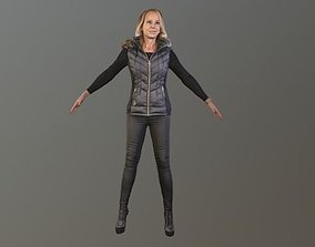 3D model No98 - T Pose Lady