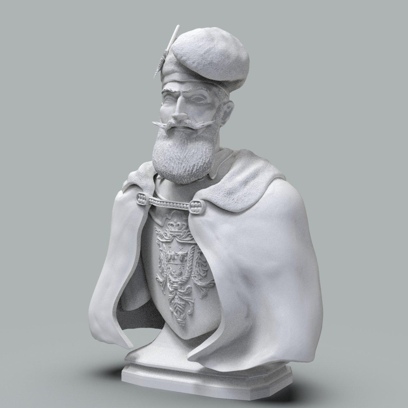 Michael the Brave 3D print model