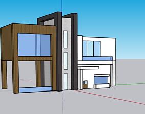 Modern House 3D print model