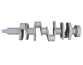 truck 3D Crankshaft