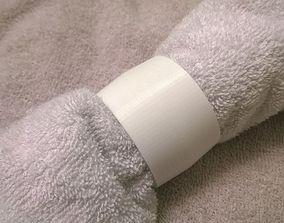 017a - Hand Towel Ring - 3D print model