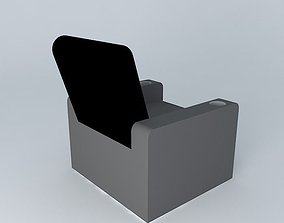 3D model Home Theater Chair