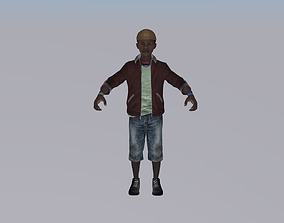 3D African Child