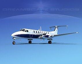 Beechcraft B1900C V10 3D model