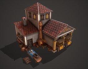 Rome Bakery 3D model