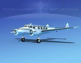 3D model Lockheed L10 Electra Aero North