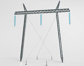 Electricity Pylon 3D asset