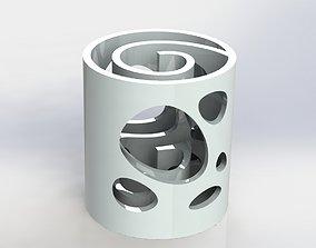 3D printable model Labyrinth Pen Holder Water