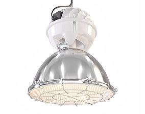 3D model Versmissen Old industrial hanging lamp INDU 5